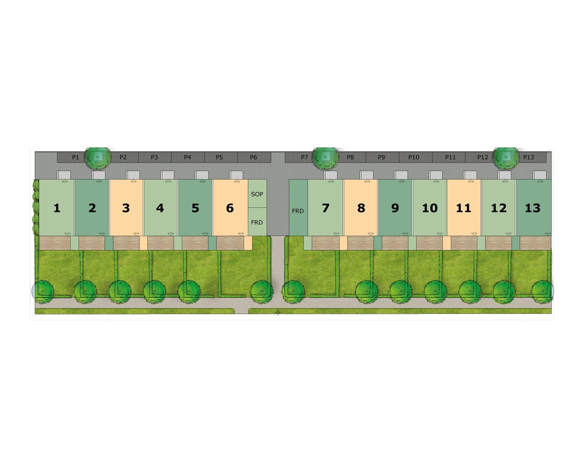 TB-Gruppen | För ett levande samhälle - Blå Parken illustrationsplan