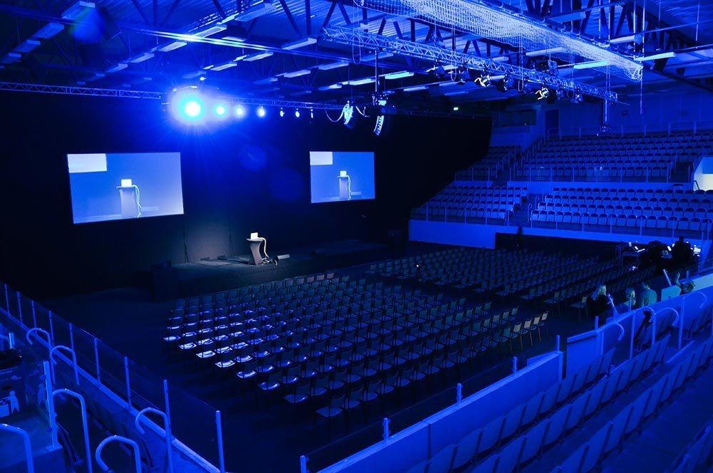 Estrad multiarena - Konferens